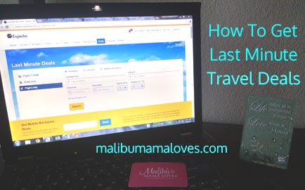 how to get last minute travel deals
