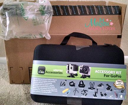 action camera kit