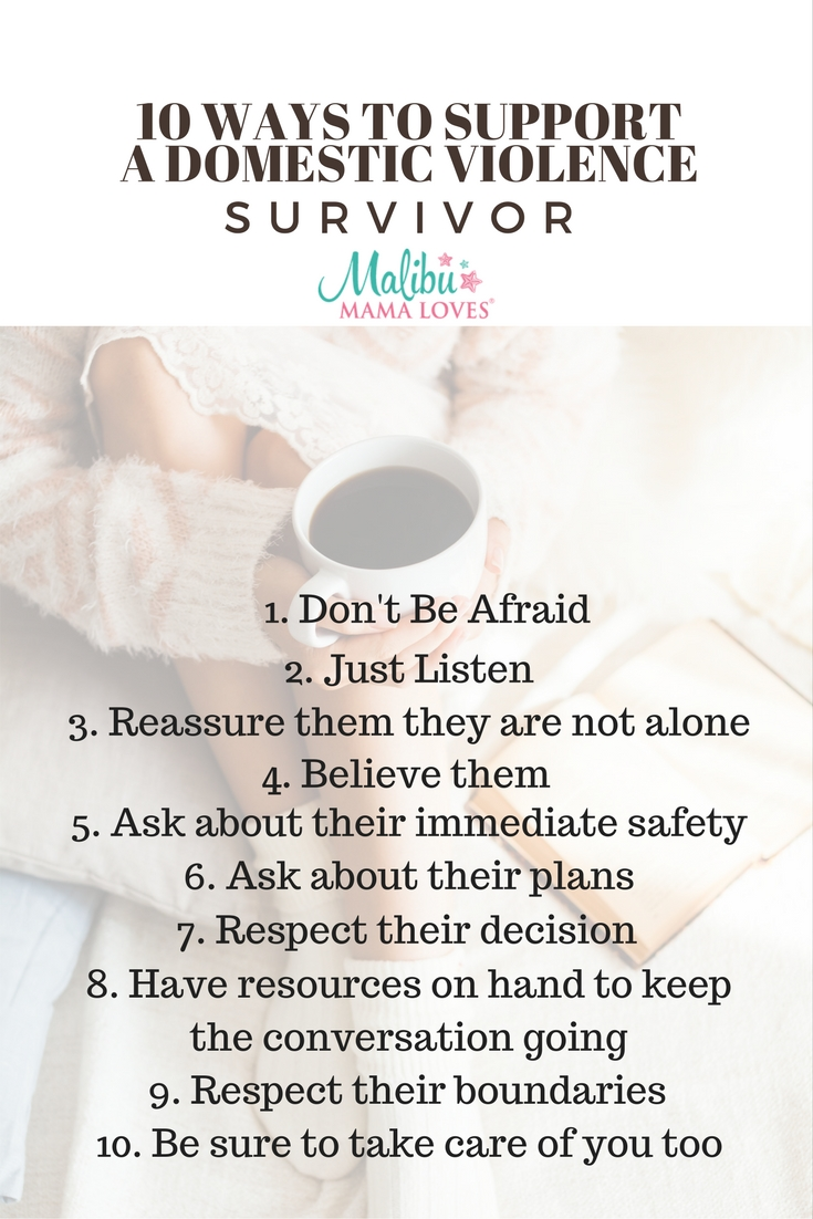 Conscious Living: 10 Ways to Support a Domestic Violence Survivor
