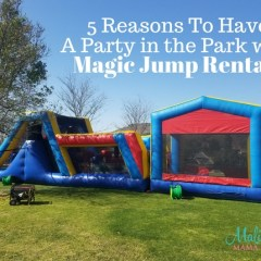 5 Reasons To Have A Party In The Park With Magic Jump Rentals