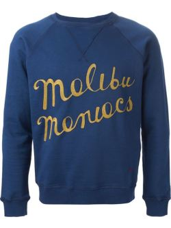 +People Malibu Maniacs Embroidery Sweatshirt