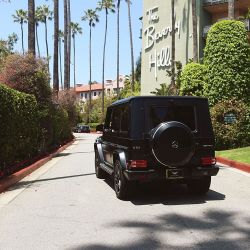 Riding in Style to The Beverly Hills Hotel