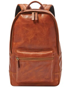 Fossil Estate Leather Backpack