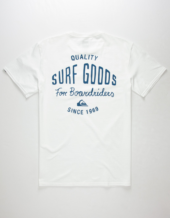 QUIKSILVER Quality Surf Goods Pocket Tee