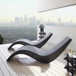 Wake Chaise Lounge by Porta Forma