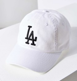 American Needle LA Ballpark White Baseball Hat