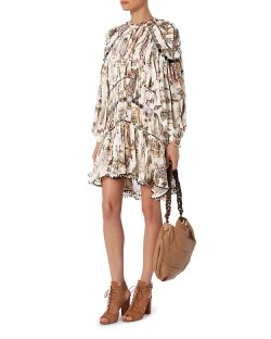 Zimmermann Karmic Mirror Embellished Dress