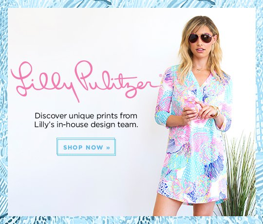 Lilly Pulitzer – Discover Unique Prints from Lilly's in-house design team.