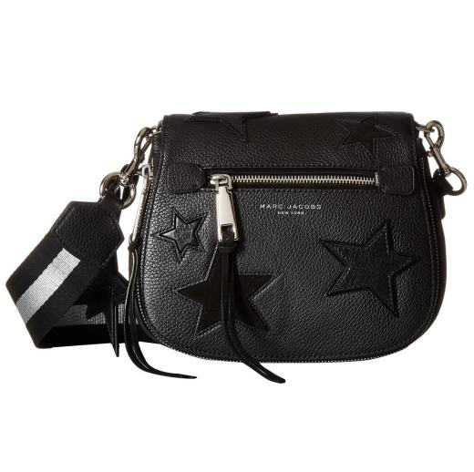 Marc Jacobs Star Patchwork Small Saddle Bag