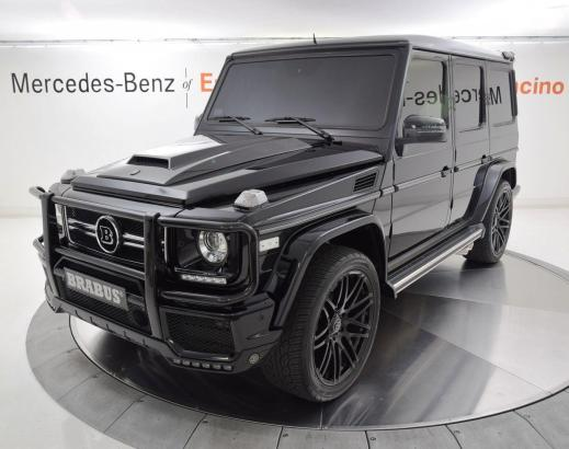 Mercedes Benz G-Class G550 Brabus 4MATIC 2015 SUV Luxury Vehicle