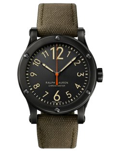 Ralph Lauren 39 MM Chronometer Steel Mens Watch