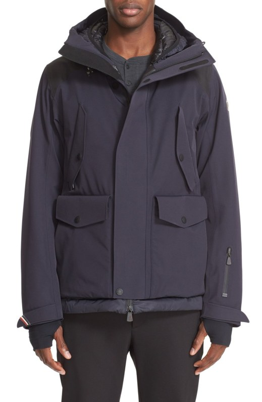 Moncler 'Horn' Water Resistant Mens Down Jacket