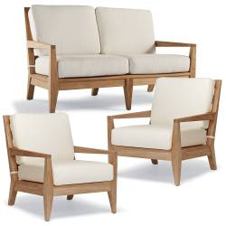 Peyton 3 Piece Loveseat Set