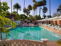 The Beverly Hills Hotel – Pool Side View – Beverly Hills, California