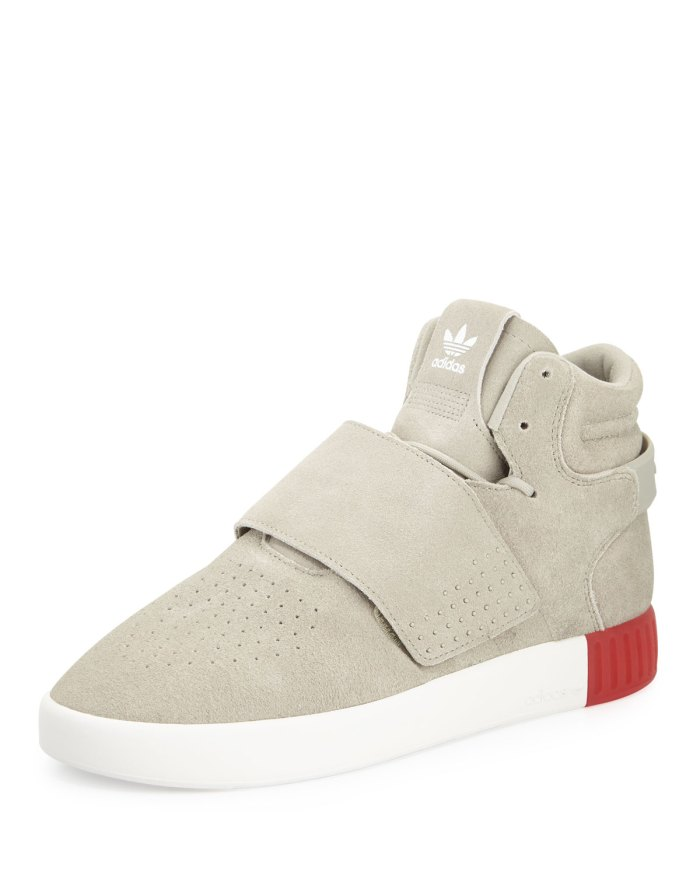 Adidas Men's Tubular Invader Suede Mid-Top Sneakers