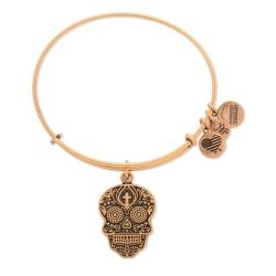 Alex and Ani 'Calavera' Adjustable Wire Bangle Bracelet