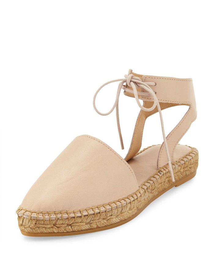 Andre Assous Vanessa Leather Espadrille Flats