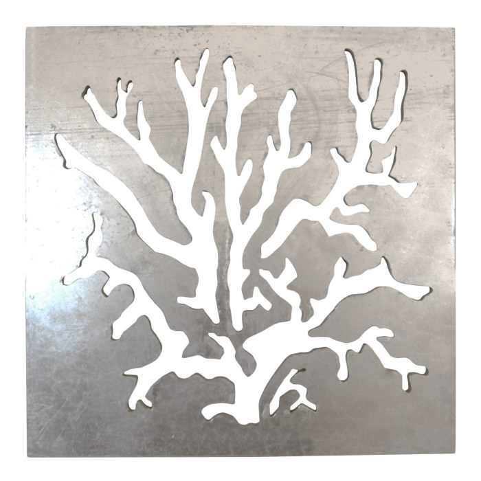 Coral Carved Wall Art