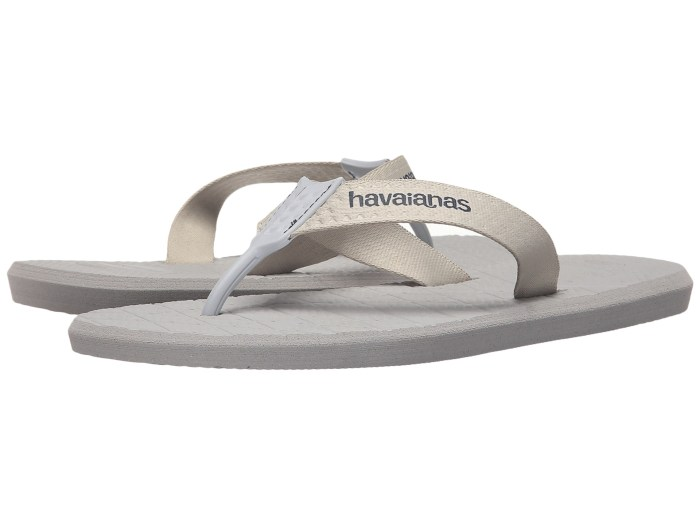 Havaianas Level Flip Flops Ice Grey Sandals