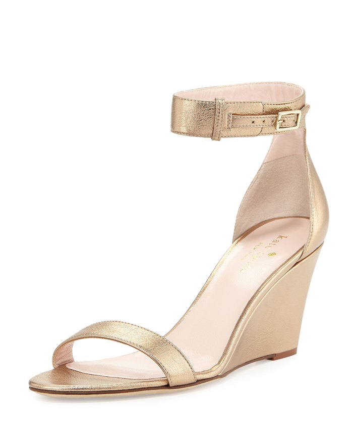 Kate Spade New York Quartz Ronia Naked Wedge Sandals