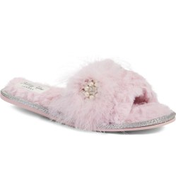 Pretty You London Embellished Bridal Slide Slippers