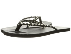 Scotch & Soda Leather Flip Flop Black Sandals