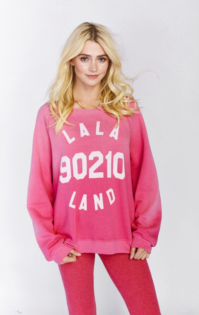 Wildfox LALA Land 90210 Kim's Sweater