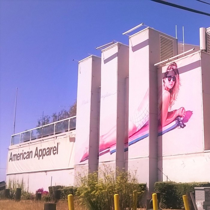 Summer Everyday at the Malibu American Apparel Store