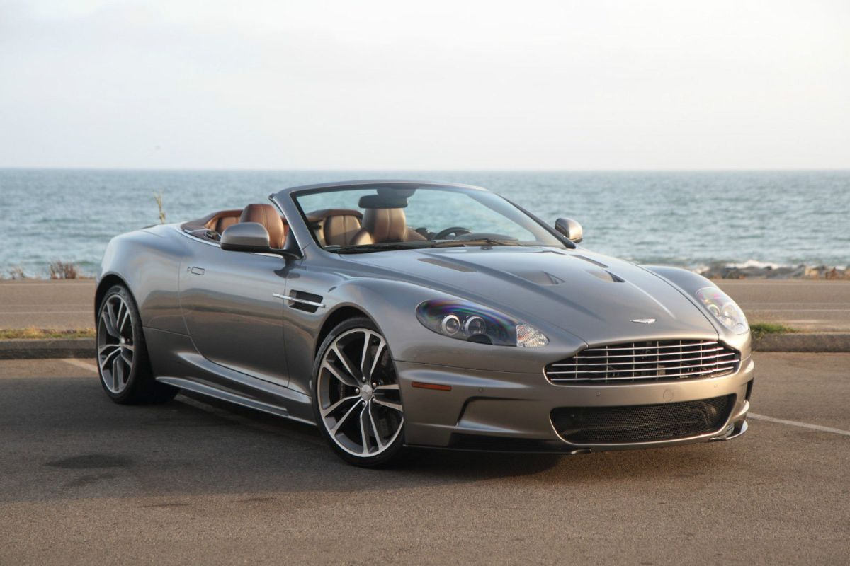 Aston Martin DBS Volante Convertible 2010 2-Door Sports Car