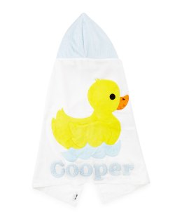 Boogie Baby Hooded Duckie Towel