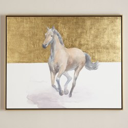 """Golden Dame"" Giclee Horse Wall Art"