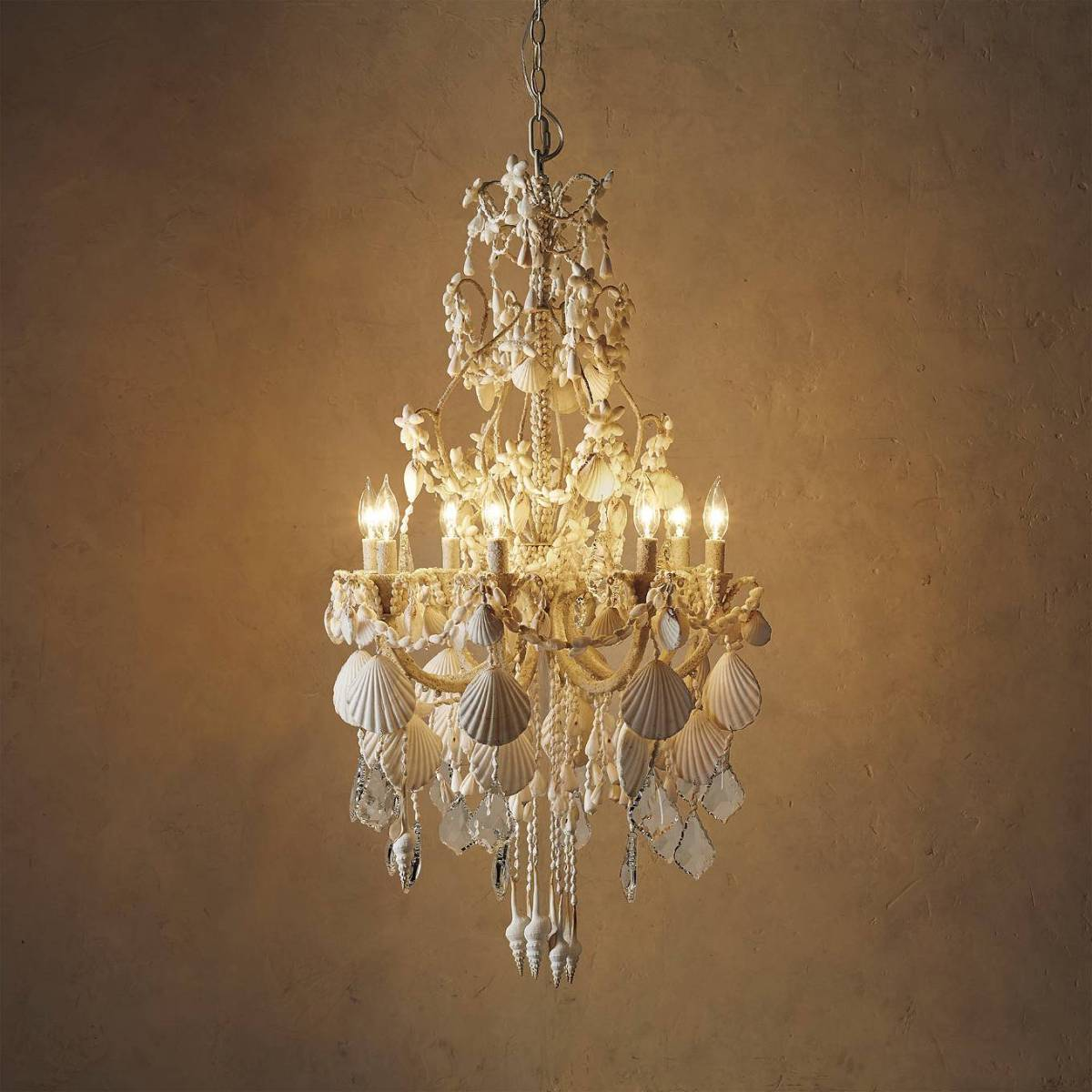 Harbor Seashell Chandelier