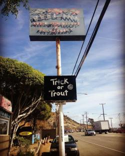'Trick or Trout' Happy Halloween! – Reel Inn Malibu Seafood Restaurant