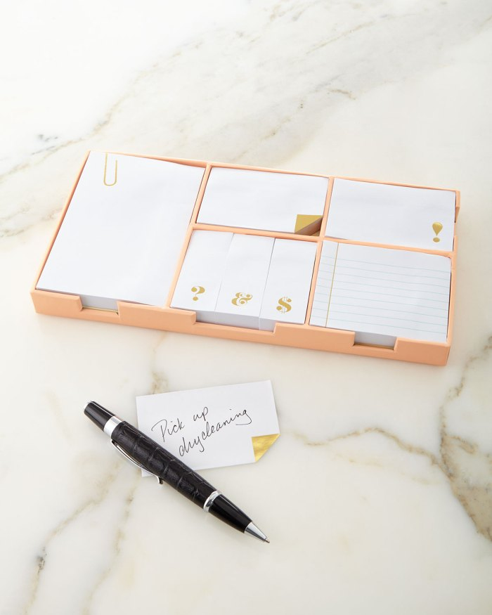 Kate Spade New York Gold Sticky Note Set