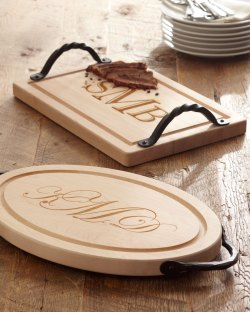 Maple Leaf At Home Personalized Handcrafted Cutting Boards
