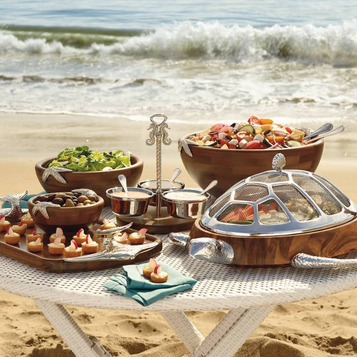 Ocean Luxe Serveware Home Gourmet Gift Collection