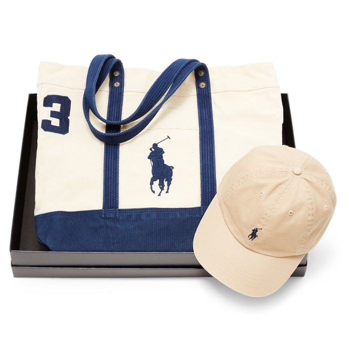 Polo Ralph Lauren Pony Cap & Tote Gift Set