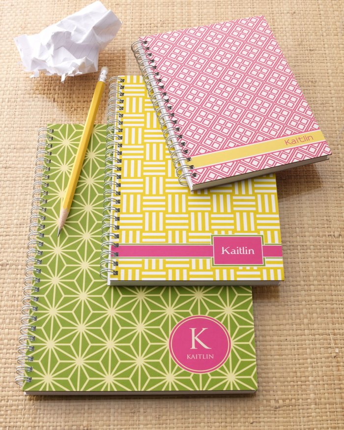 Preppy Mod Notebook Set