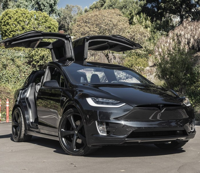 Tesla Model X P90D INSANE MODE 2016 SUV Electric Car