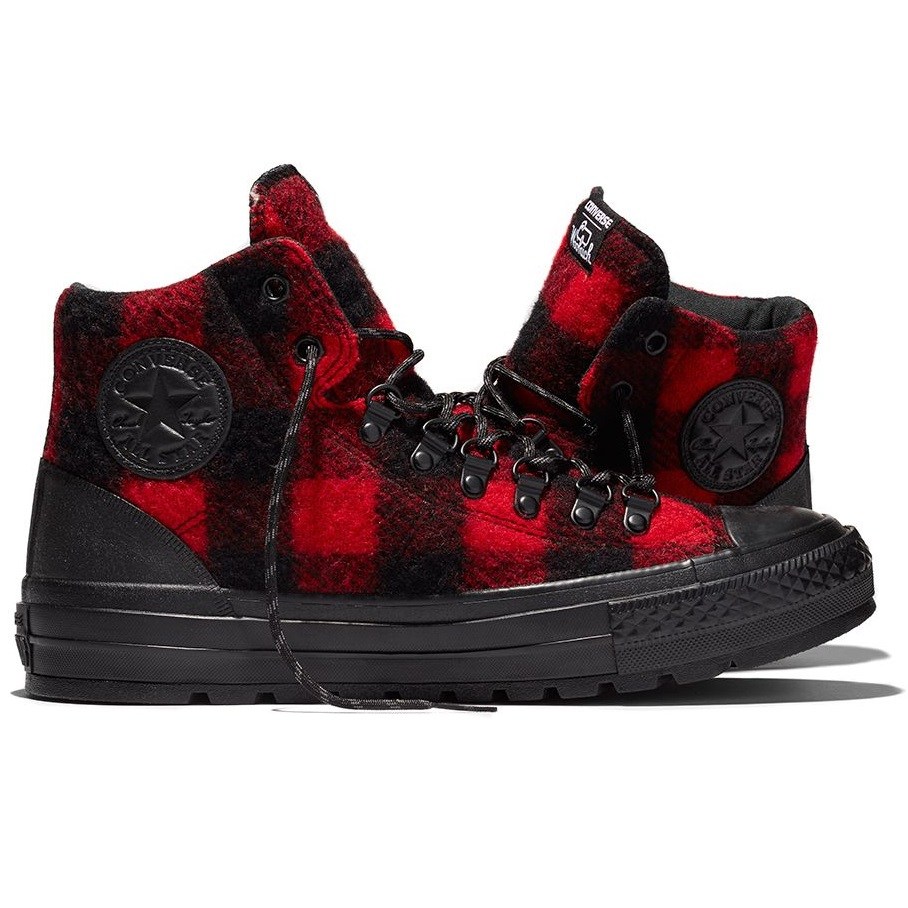 Converse X Woolrich Chuck Taylor All Star City Street Hiker Shoes