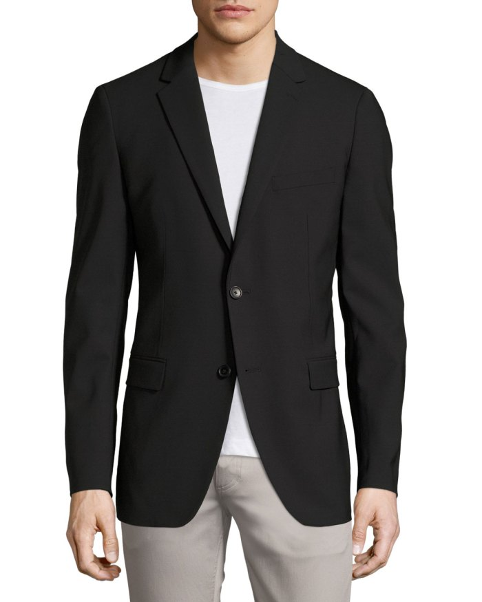 Theory Wellar New Tailor Black Blazer