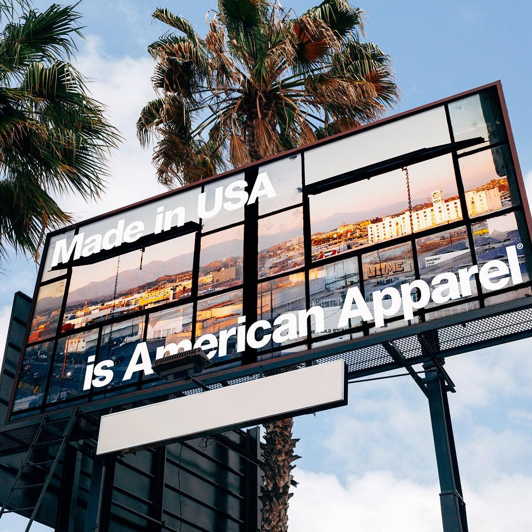 American Apparel Made In Downtown Los Angeles USA