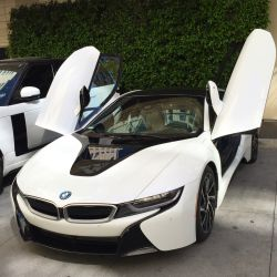 2015 BMW i8 Pure Impulse World Coupe Electric Sports Car
