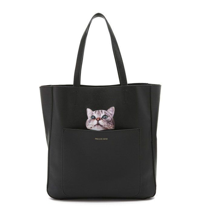 Paul & Joe Sister Cat Elvirine Tote Bag