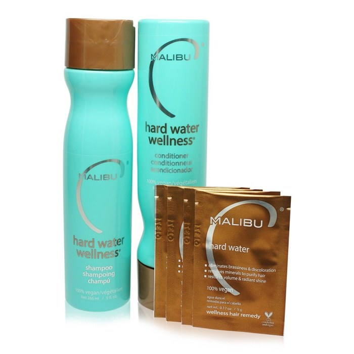 Malibu C Hard Water Wellness Shampoo & Conditioner Treatment Kit