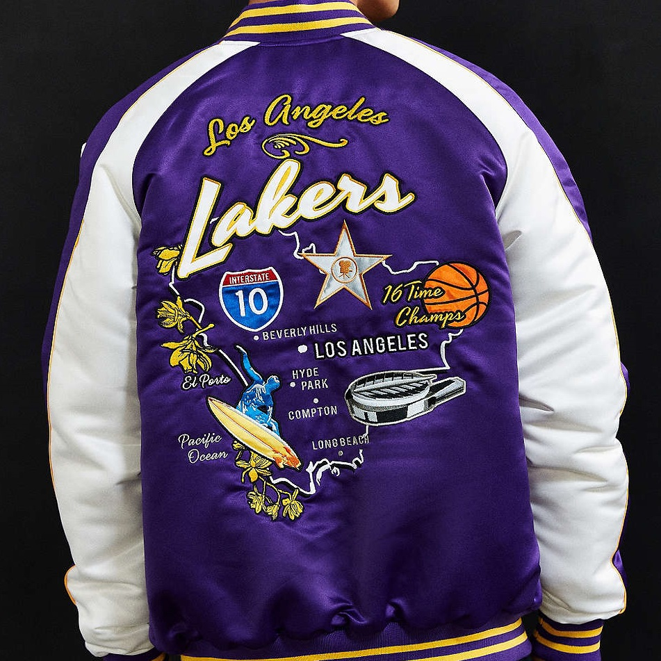 Starter NBA Los Angeles Lakers Souvenir Jacket