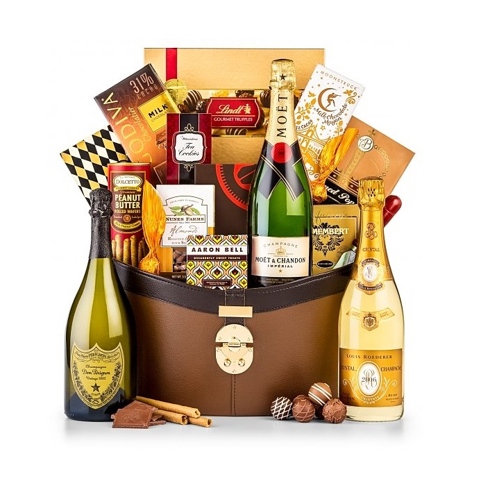 The Royal Holiday Champagne Gift Basket