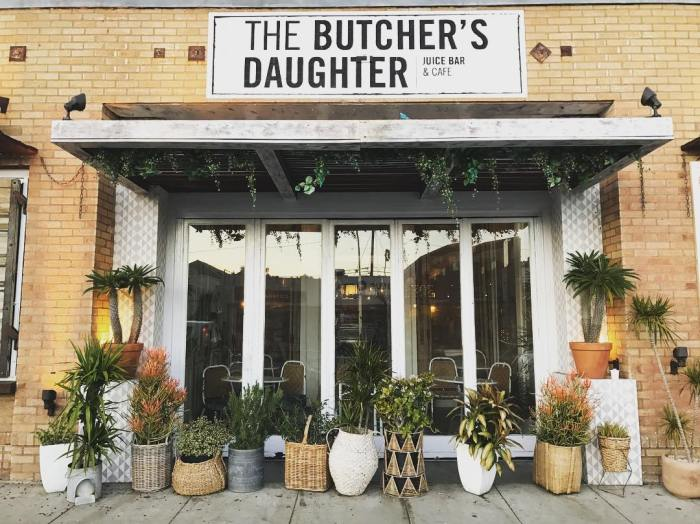 The Butcher's Daughter Cafe in Venice California