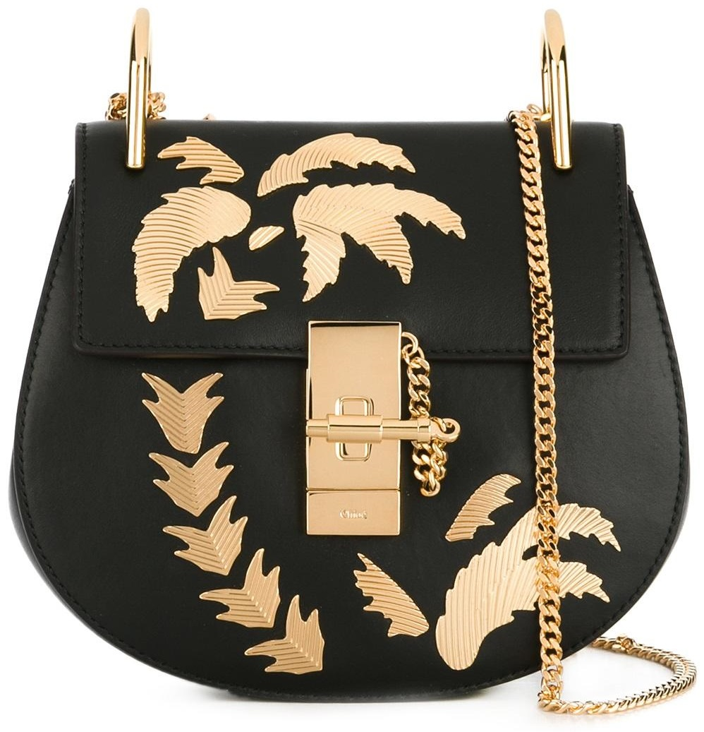 Chloé Drew Palm Tree Shoulder Bag