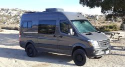 2016 Mercedes Benz Sprinter 4×4 Custom Camper Crew Van